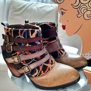 Spring Step L'Artiste Redding Leather Ankle Boots
